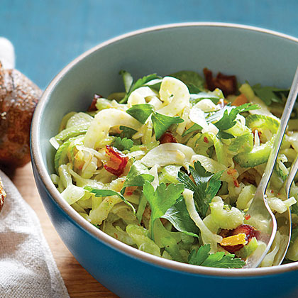 su-Celery Fennel Salad with Preserved Lemon and Dates