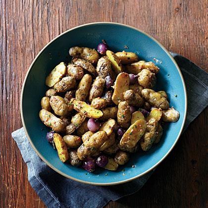 su-Makah Ozette Potatoes with Bacon Cream