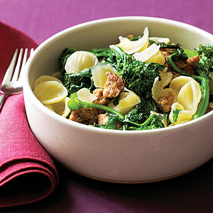 su-Orecchiette with Sausage and Broccoli Rabe