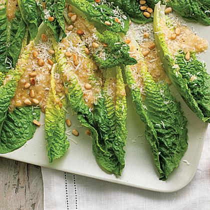 su-Pine-Nut Salad Spears