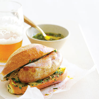 su-Argentine-Style Sausage Sandwiches