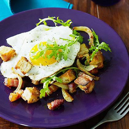 su-Roasted Fennel, Egg, and Pancetta Panzanella