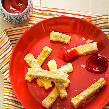 su-Tofu Fries with Gingered Ketchup