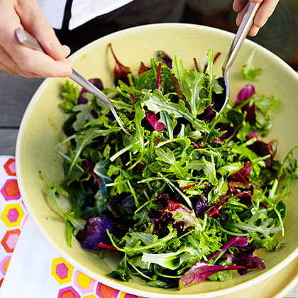 Triple Green Salad Recipe Sunset Magazine