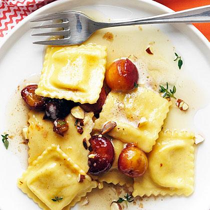su-Cherry Brown Butter Ravioli