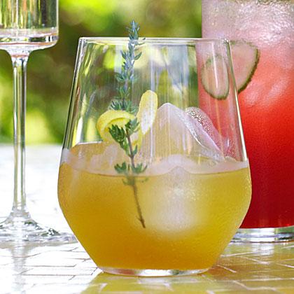 su-Lemon-Thyme Pimm's Cooler