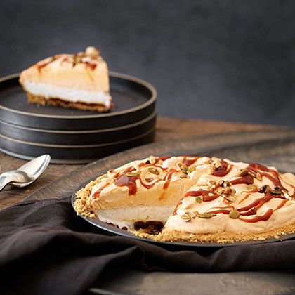 su-Pumpkin Caramel Ice Cream Pie