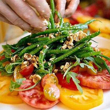 su-Heirloom Tomato and Haricot Vert Salad