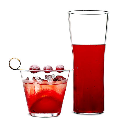 su-Cranberry Shrub