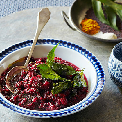 su-Spiced Cranberry Relish