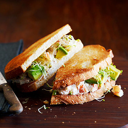 su-California Crab Sandwich