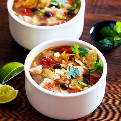 su-Chicken Tortilla Soup