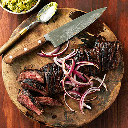 su-Carne Asada con Mojo (Grilled Beef with Sour Orange Marinade)