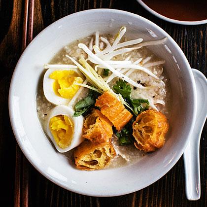 su-Chicken Congee (Rice Porridge)