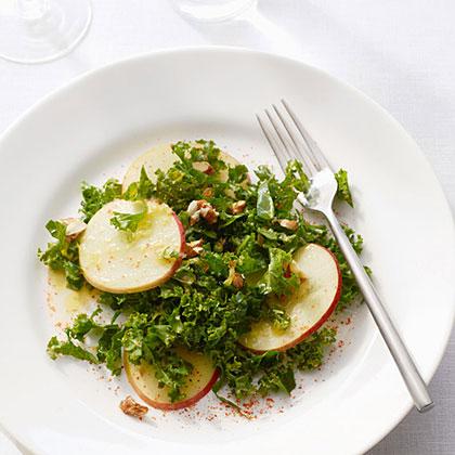 su-Shaved Honeycrisp Apple and Kale Salad