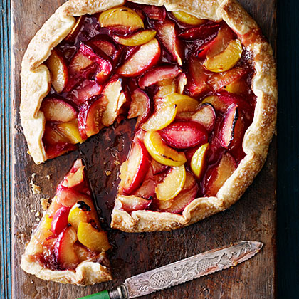 su-Spiced Crostata with Pluots