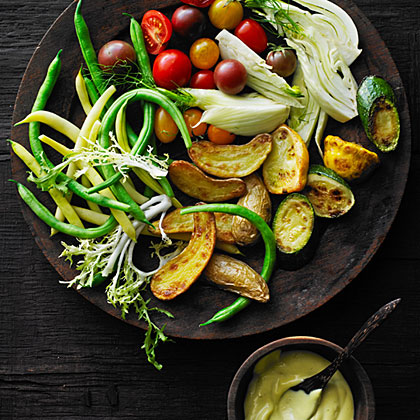 su-Late-Summer Vegetables with Aioli