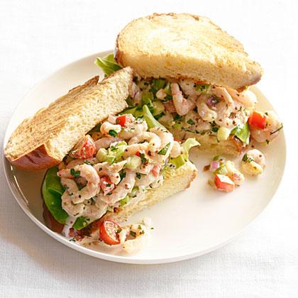 """su-Shrimp """"Louis"""" Sandwiches"""