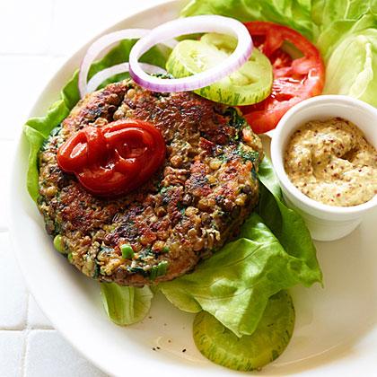 su-Lentil Veggie Burgers