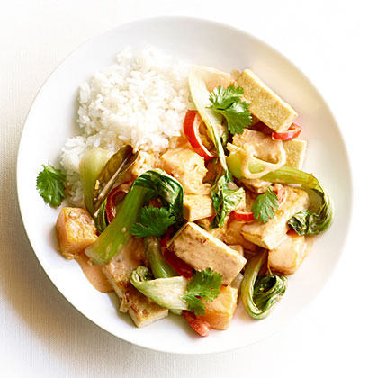su-Red Curry Tofu with Fall Vegetables