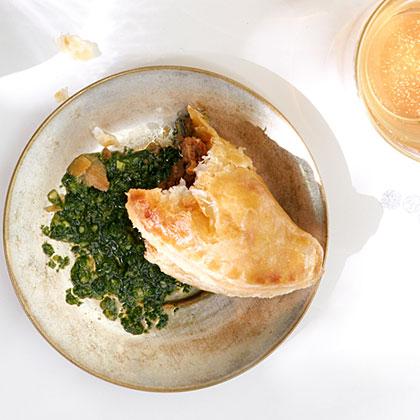 su-Beef Empanadas with Chimichurri