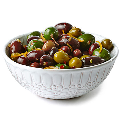 su-Olives with Orange and Fennel
