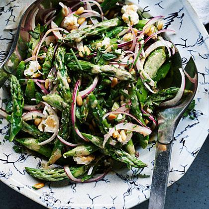su – Asparagus Summer Salad