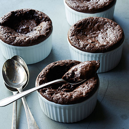 su – Molten Chocolate Mousse Cups