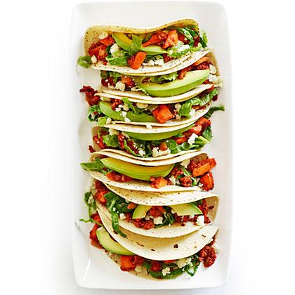 su-Sweet Potato and Chorizo Tacos