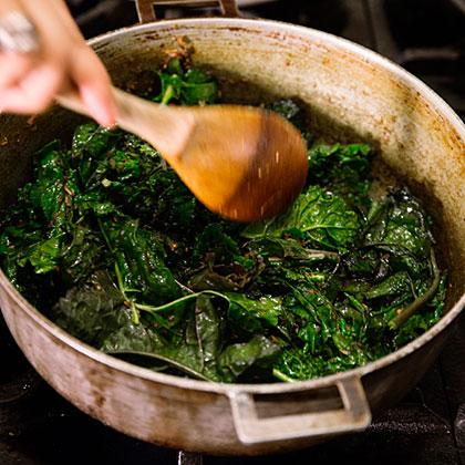 su-Winter Greens Curry