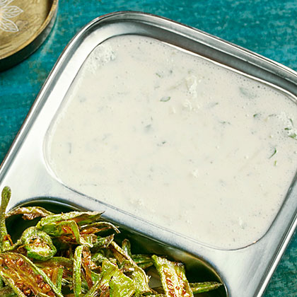 su-Double Cucumber Raita (Spiced Yogurt)