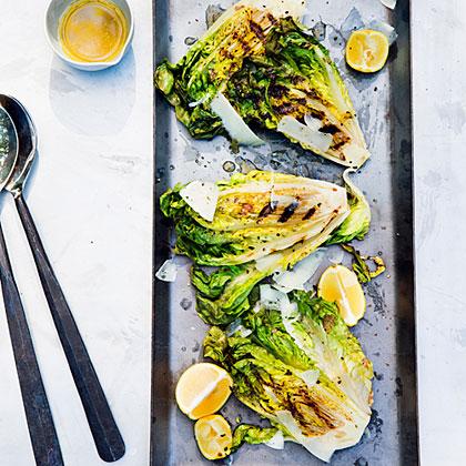 su-Grilled Caesar Salad