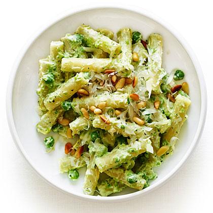 su-Ricotta and Pea Pasta