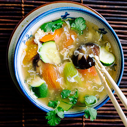 su-Vegetable Egg-Drop Soup