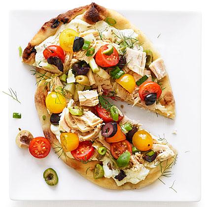 su-Nicoise Pizzas