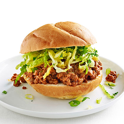 su-Red Curry Sloppy Joes