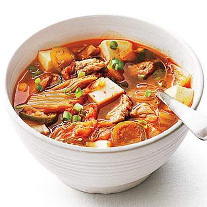 su-Pork and Kimchi Stew