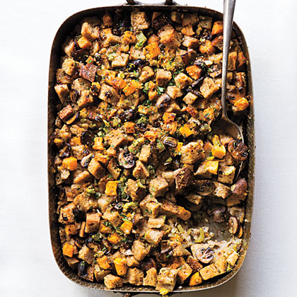 su-Rye and Butternut Squash Dressing