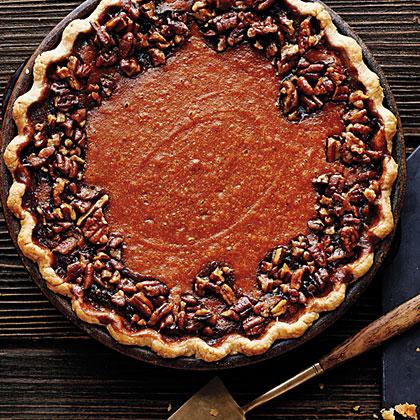 su-Sweet-Potato Pecan Pie