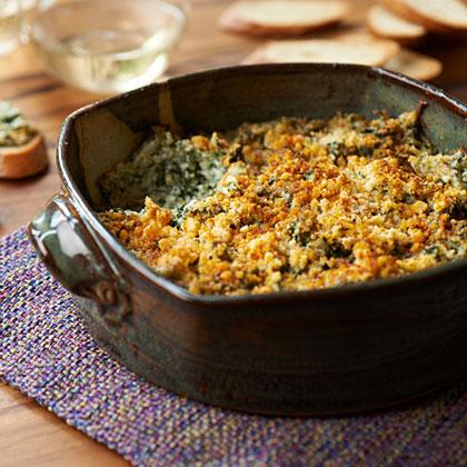 su – Baked Spinach-Parmesan Dip