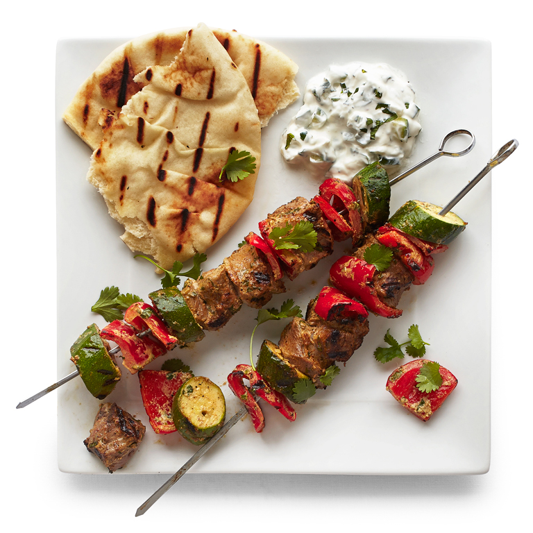 su-Indian-Spiced Lamb Kebabs Image