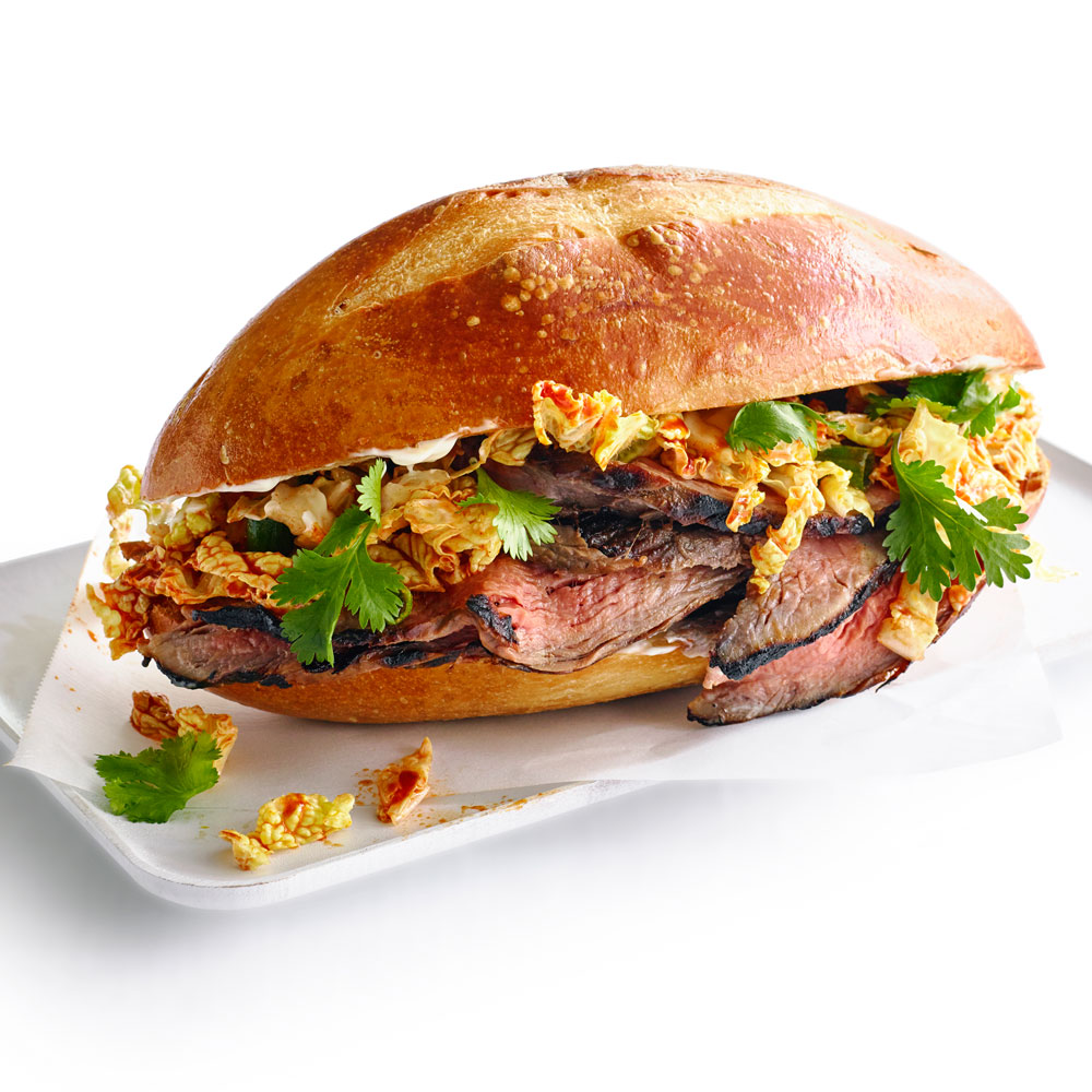 cl-Korean Steak Sandwiches Image