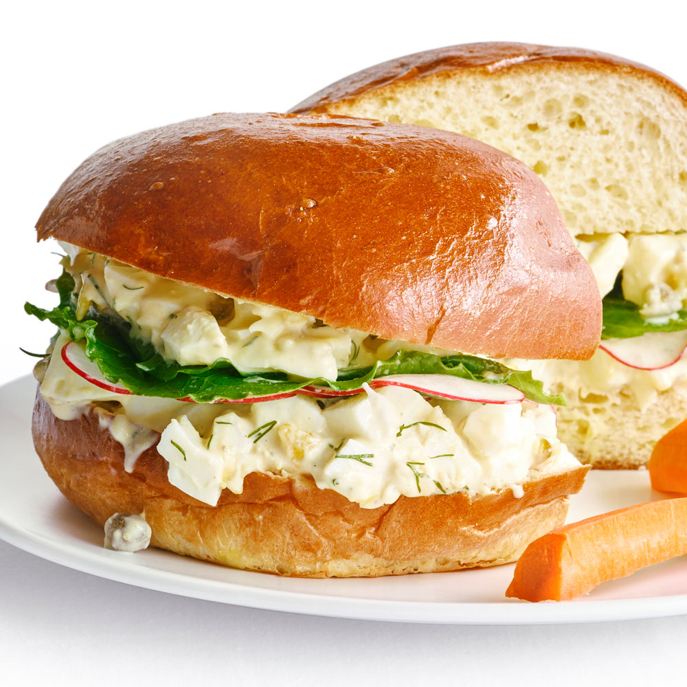 su-Lemony Egg Salad Sandwiches with Capers and Dill Image