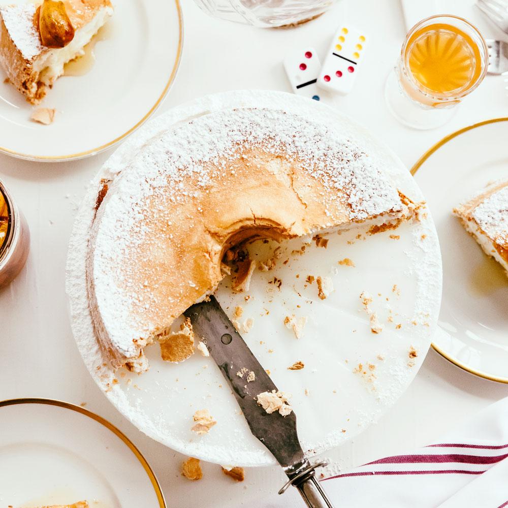 Lemon and vanilla angel food cake sunset magazine lemon and vanilla angel food cake forumfinder Choice Image