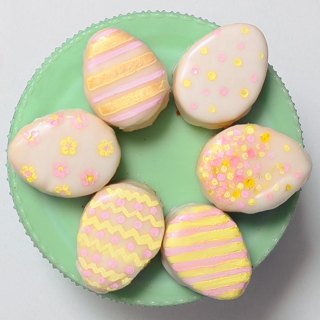 Mini Easter Egg Cakes Recipe Sunset Magazine