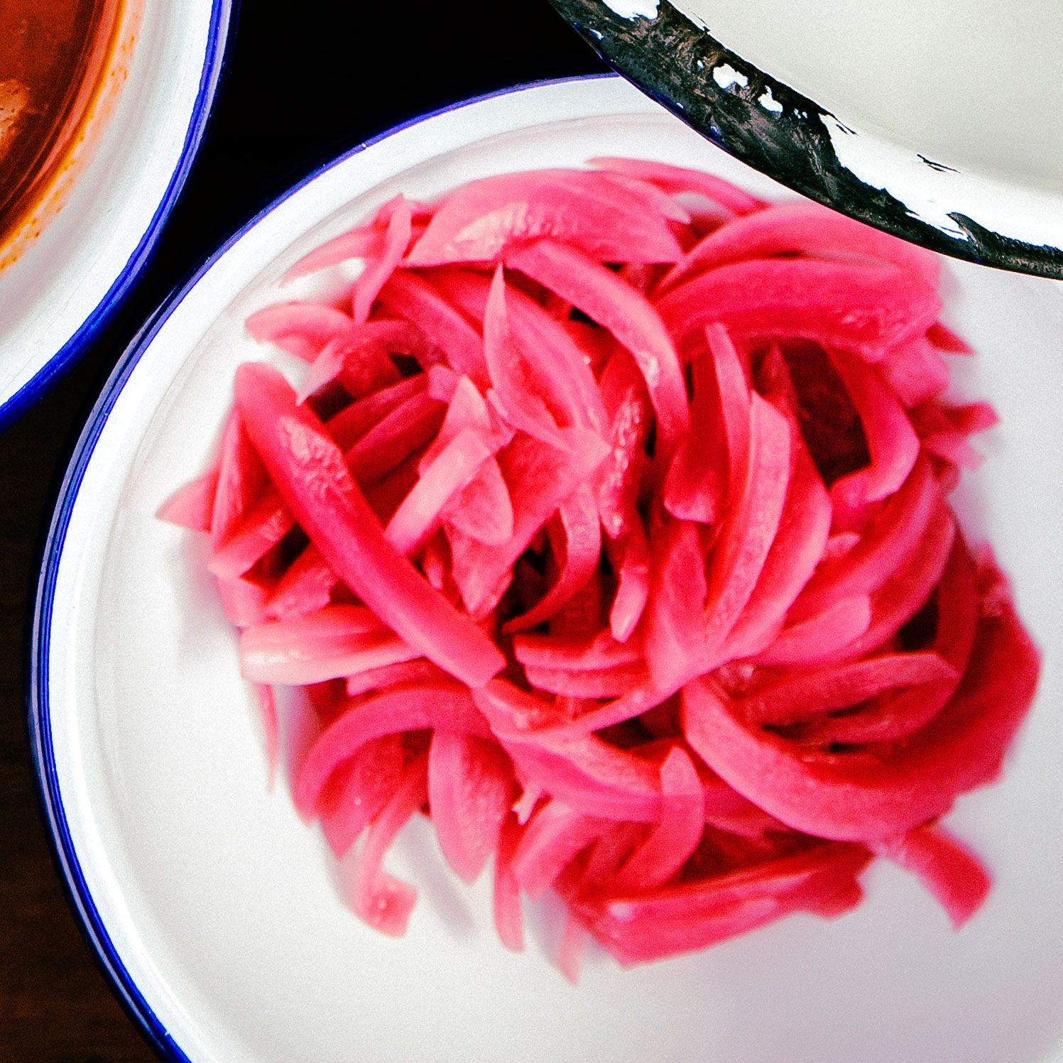 su-Pickled Red Onions Image