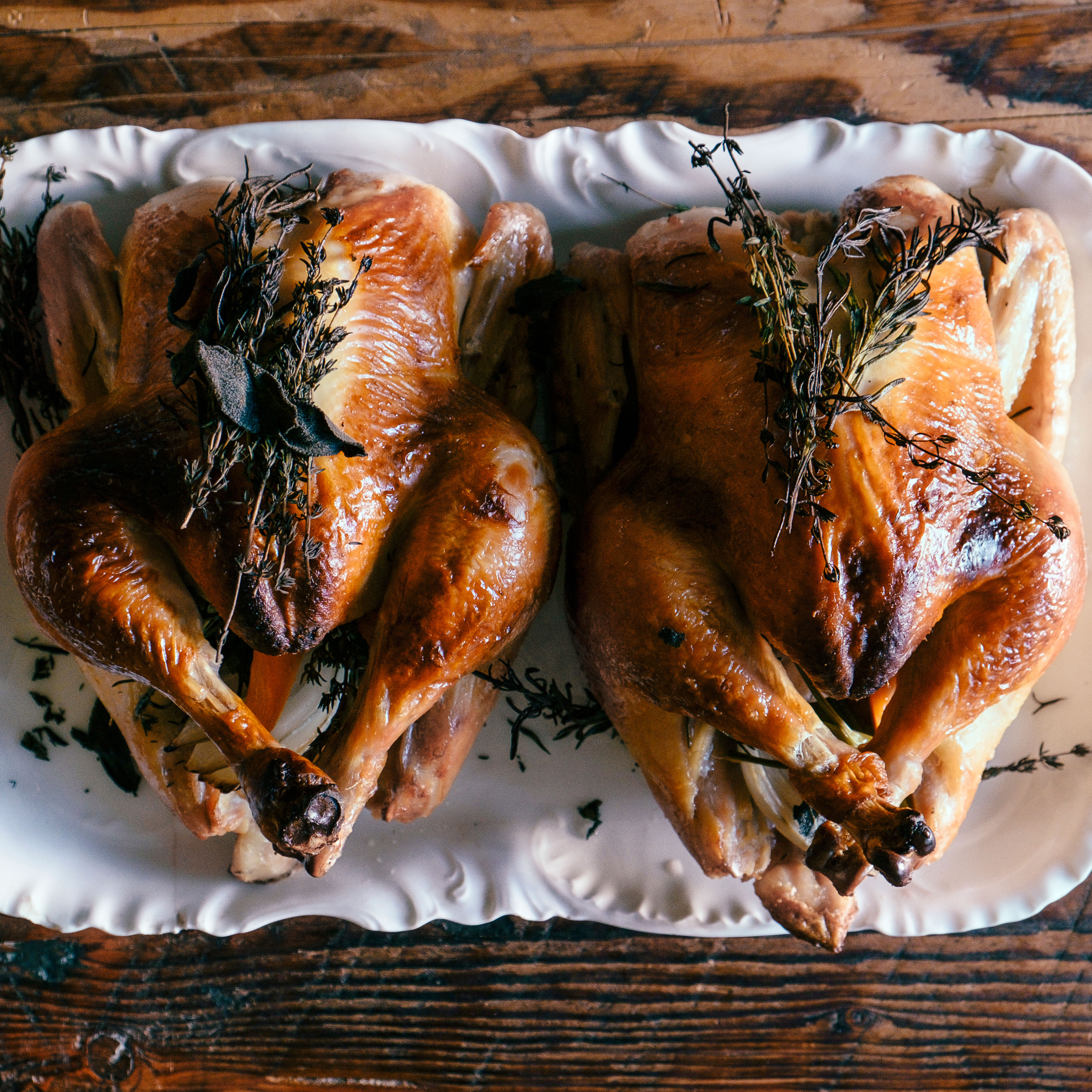 su-Roast Chicken with Herbs Image
