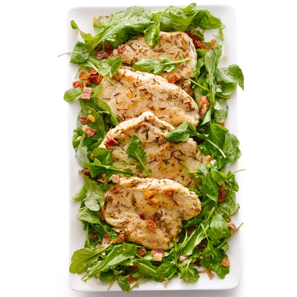 su-Rosemary Chicken Paillards Image