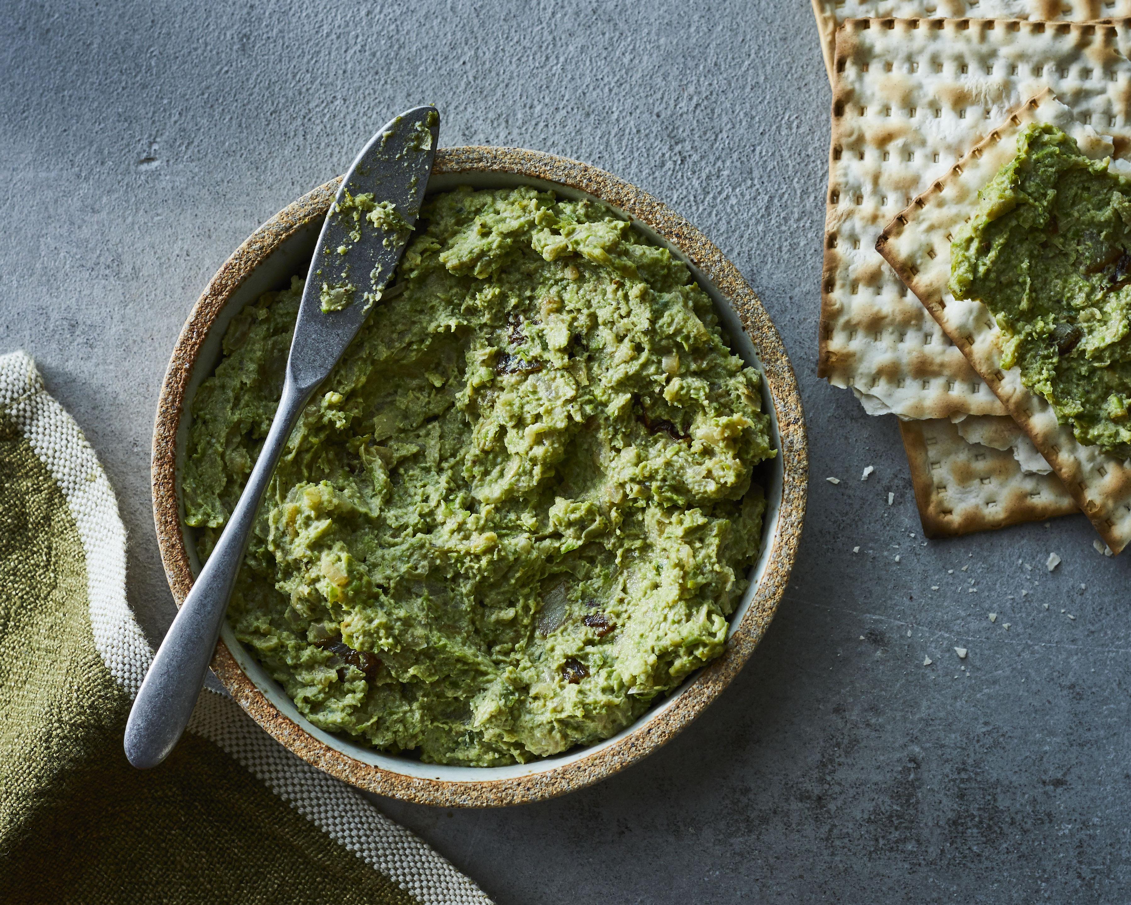 su-Safta's Mock Liver (Green Bean and Pea Pâté)