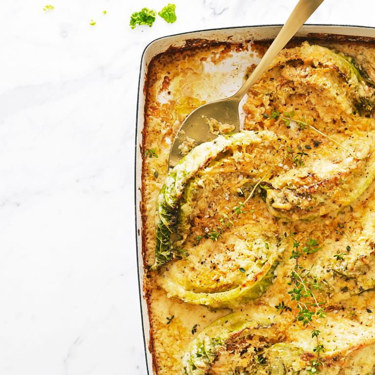 Savoy Cabbage Gratin Recipe Sunset Magazine